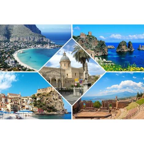 Οδική εκδρομή Νότια Ιταλία - Σικελία