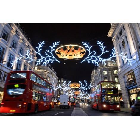 Χριστούγεννα Λονδίνο - Βρετανικό Μουσείο - Γουίνσορ